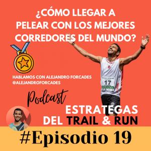Alejandro Forcades trail running