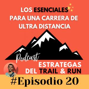 ultra trail running esenciales